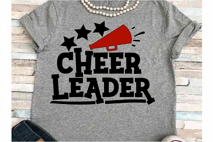 Cheer SVG DXF JPEG Silhouette Cameo Cricut Cheerleader
