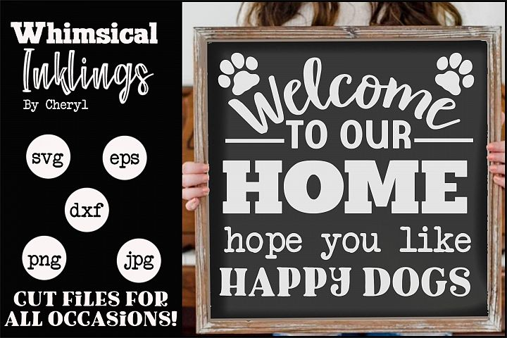 Happy Dogs SVG