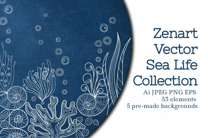 Zenart Vector Sea Life Collection