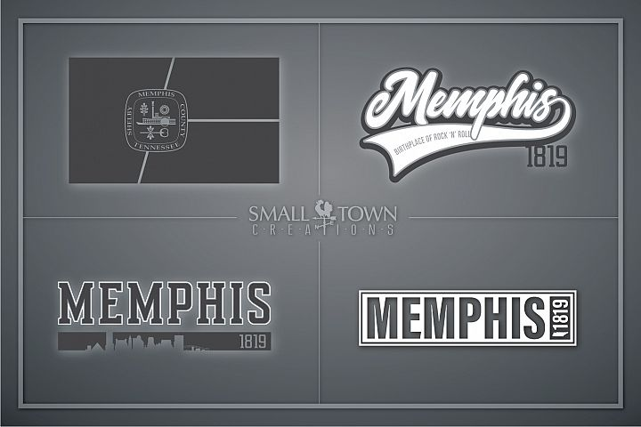 Memphis, Birthplace of Rock & Roll, Tennessee, PRINT, & CUT