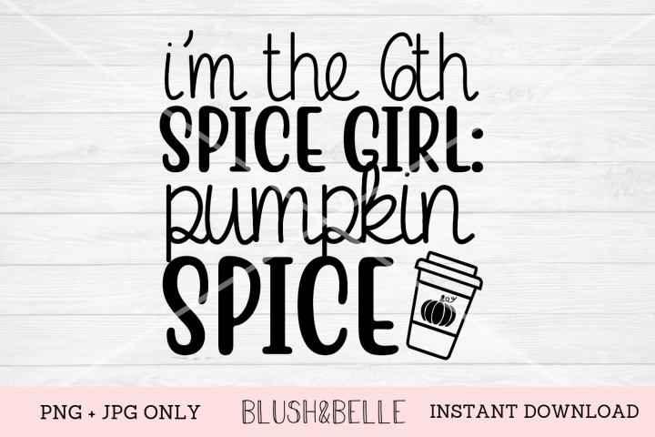 6th Spice Girl, Pumpkin Spice - PNG, JPG