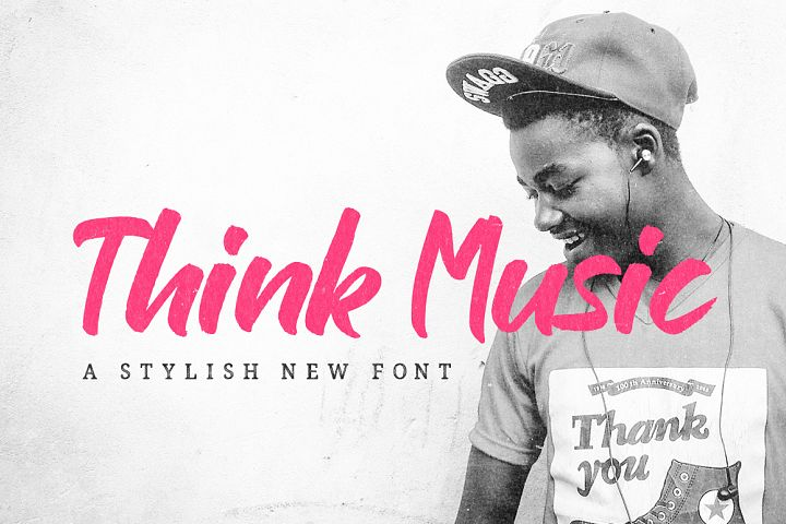 Think Music Font