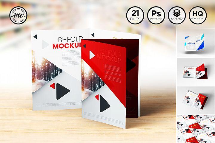 A4 Bifold Mockups V1