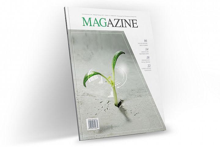 Magazine Template InDesign 14
