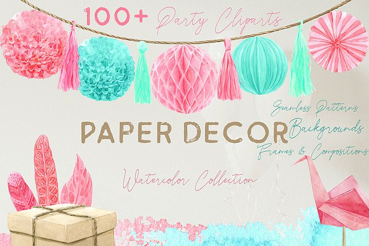 Paper Decor Watercolor Collection