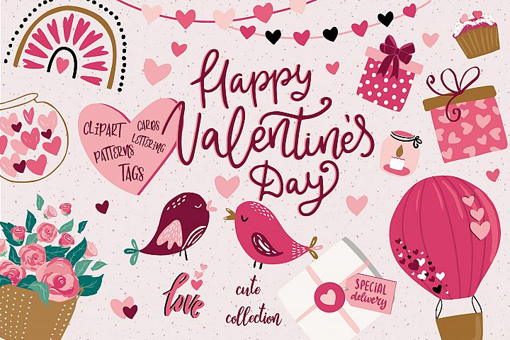 Valentines day cute collection