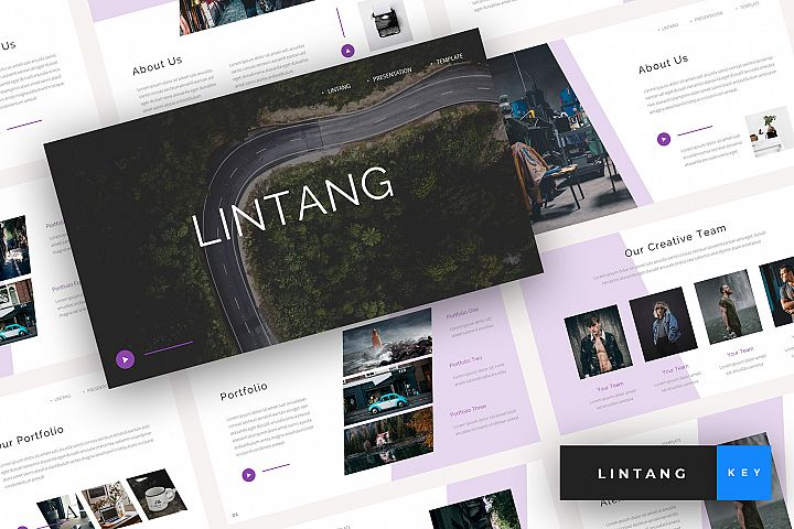 Lintang - Creative Keynote Template
