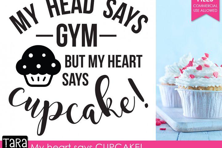 Heart says Cupcake example 3