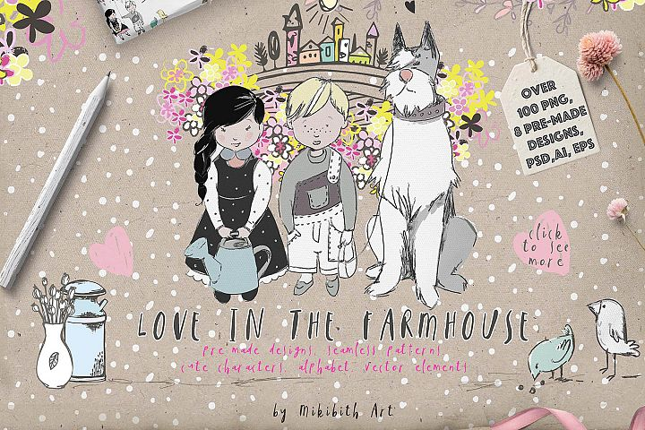 LOVE IN THE FARMHOUSE