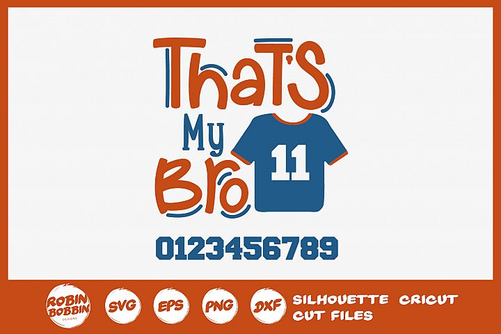 Football SVG - Thats My Pro Personalized SVG