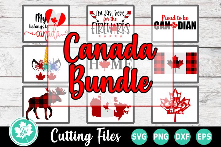 Canada Bundle - Canada SVG Cut Files