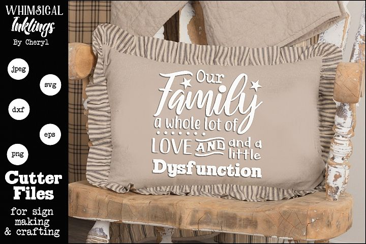 Whole Lot Of Love-Family SVG