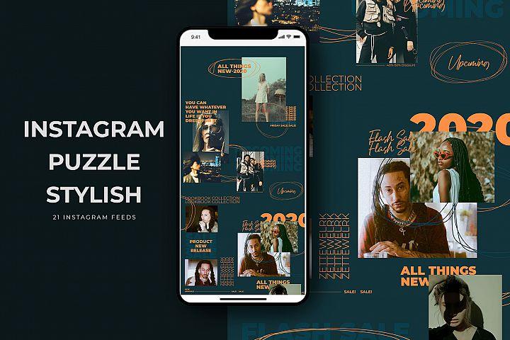 Instagram Puzzle Stylish