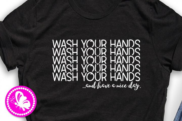 Wash your hands svg Quarantine sign Social distancing expert