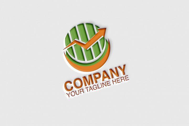 Marketing Arrow Logo Template