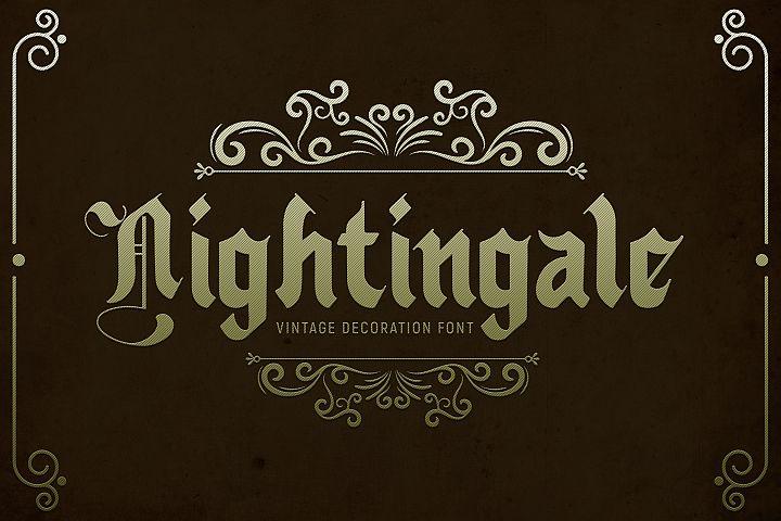 Nightingale - Medieval Font
