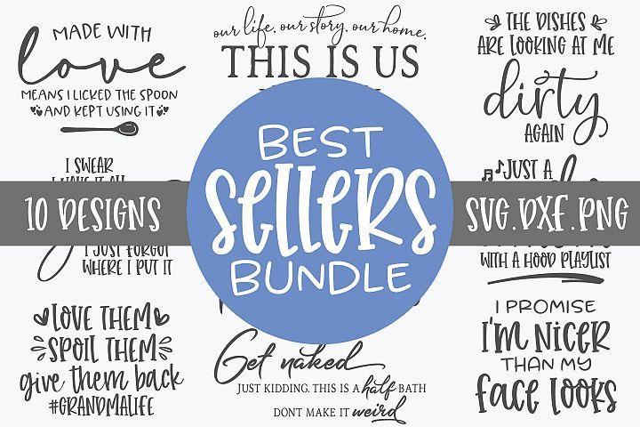 Best Sellers Bundle - 10 Designs