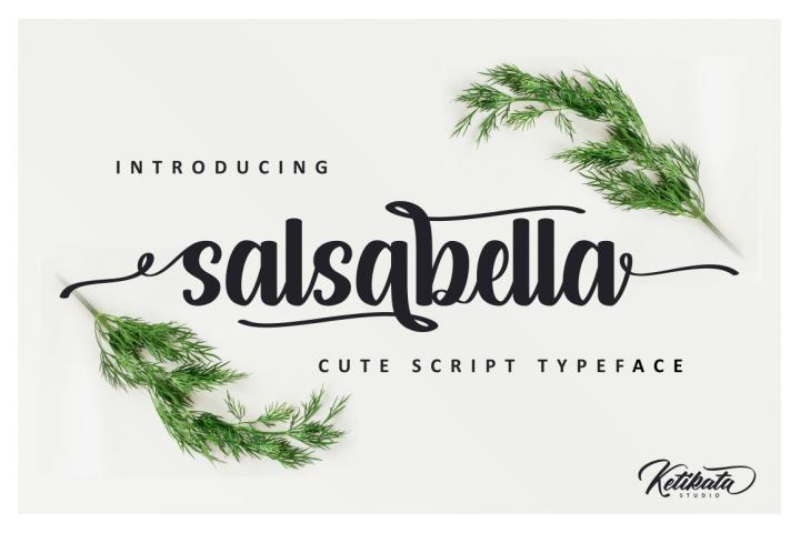 Salsabella Cute Script