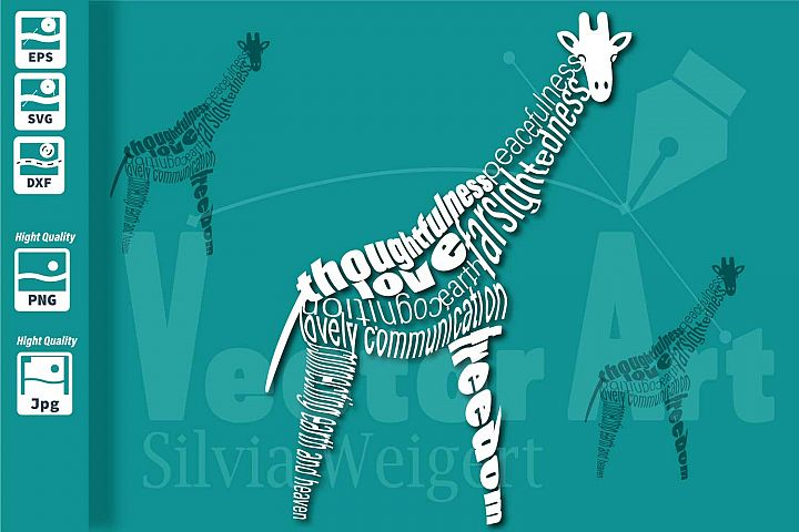 Giraffe SVG - Cut File for Crafters