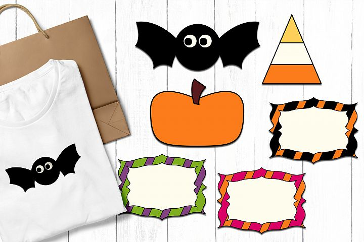 Halloween clip art graphics and illustrations example