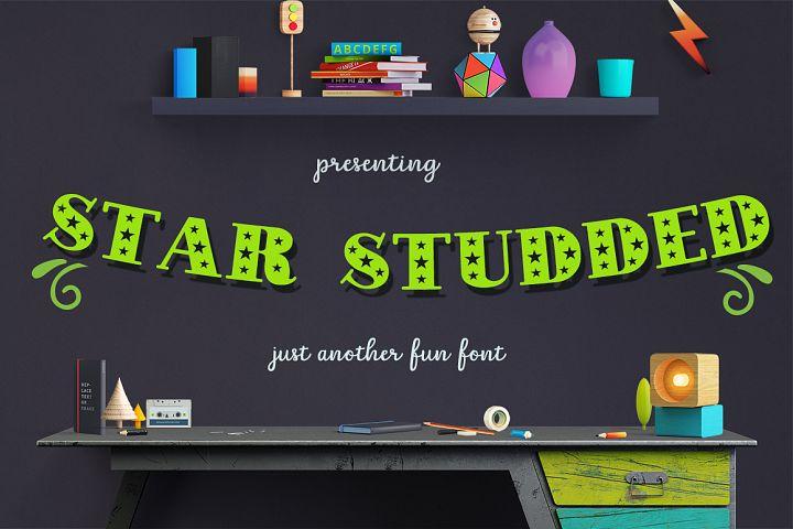 Star Studded Font