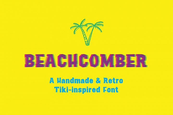 Beachcomber Font & Illustrations
