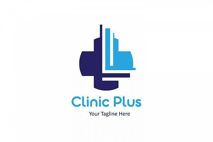L letter Plus medical logo