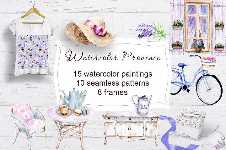Watercolor Provence