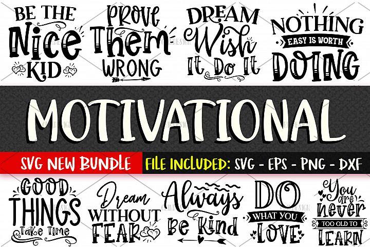 Motivational SVG Design Vol 1