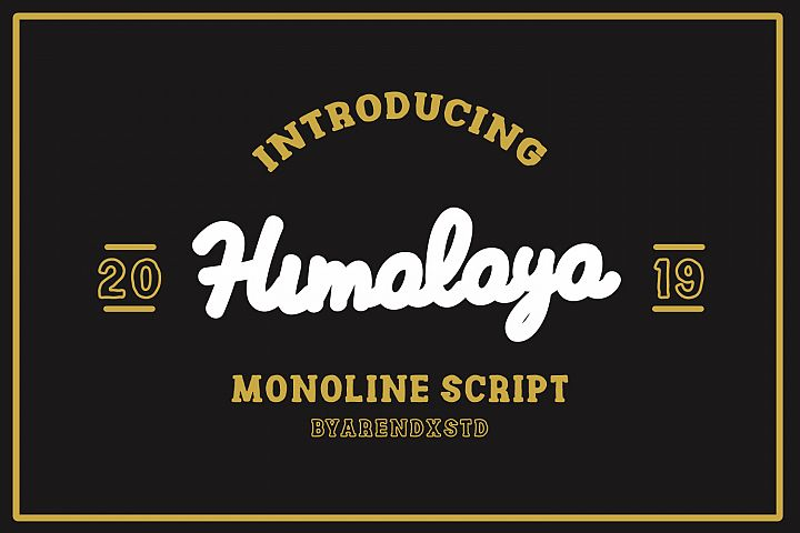 Himalaya Monoline Scripts