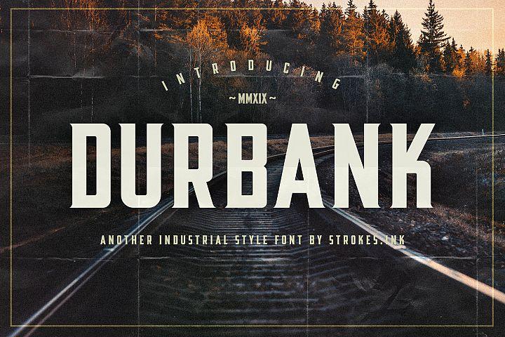 Durbank Font