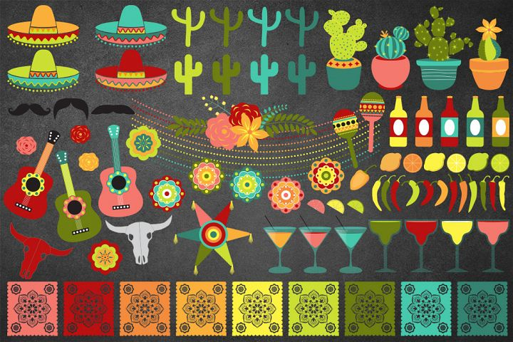Cinco de Mayo Vector Clipart example 3