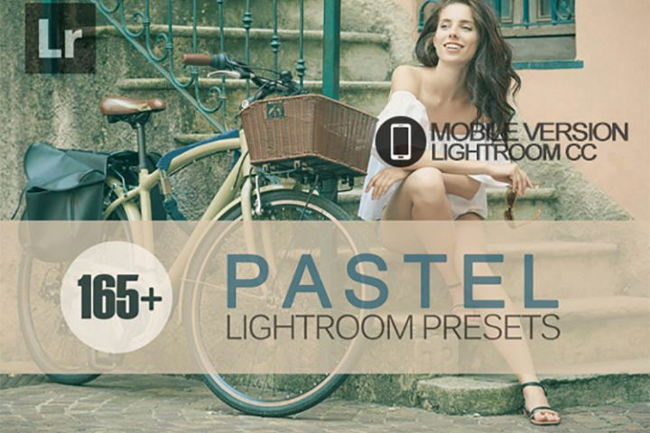 165 Pastel Lightroom Mobile bundle Presets for Lightroom Mob