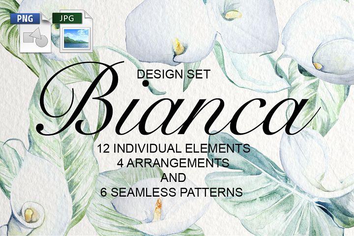 Bianca Watercolor Design Set