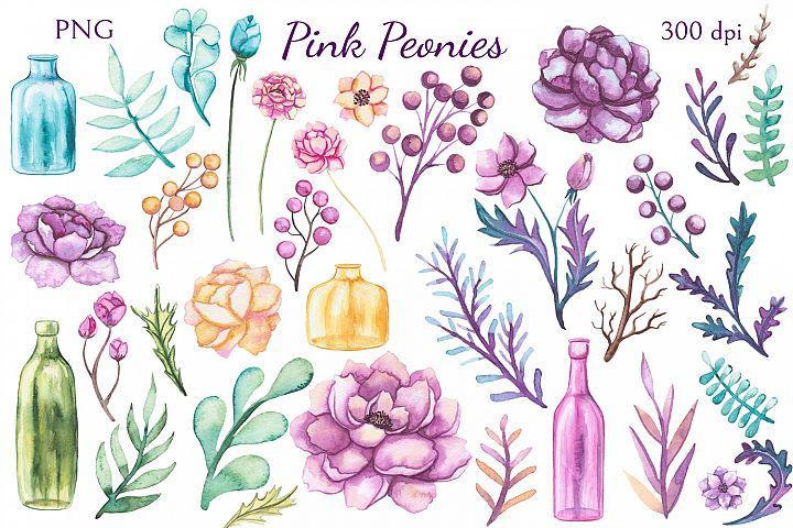 Pink Peonies example 1