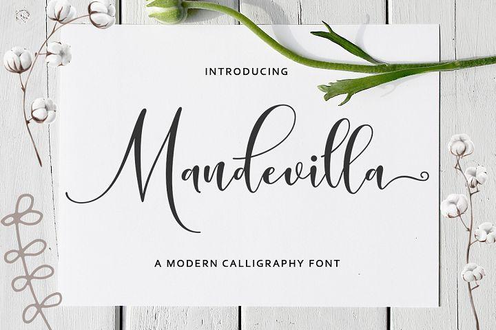 Mandevilla Script