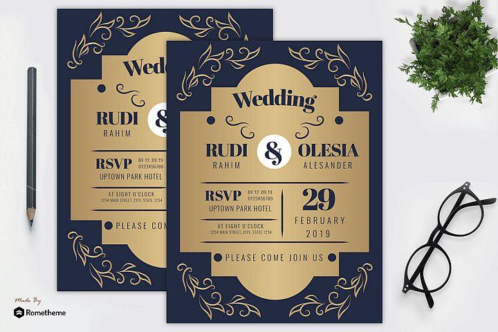 Wedding Invitation vol. 05