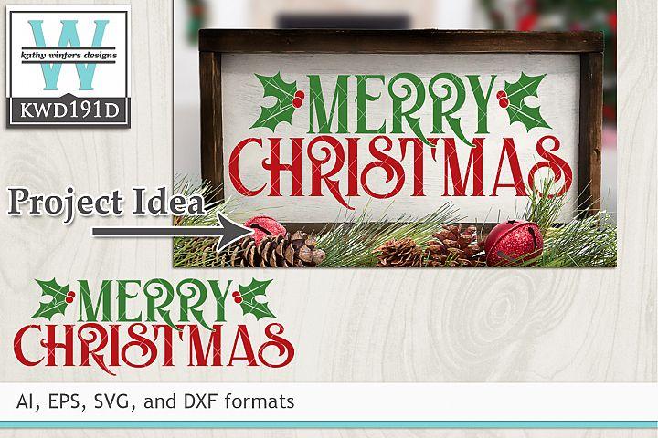 Christmas SVG - Merry Christmas