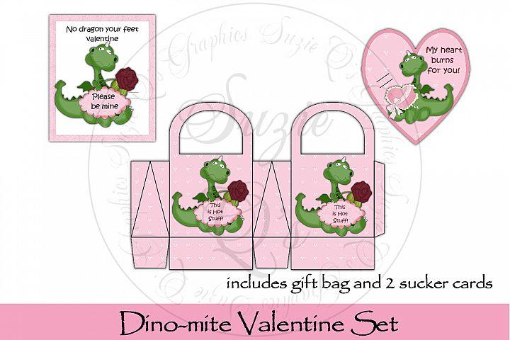 Dinomite Valentine Gift Set