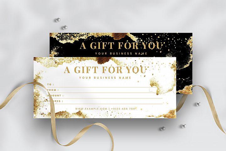 Modern Gift Voucher Template