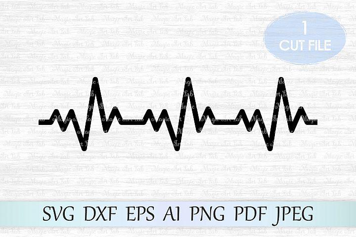Heartbeat SVG, Heartbeat cut file, Nurse svg file, Doctor