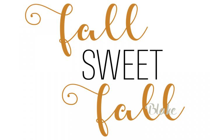 Fall Sweet Fall svg Fall svg Fall leaves t-shirt design svg