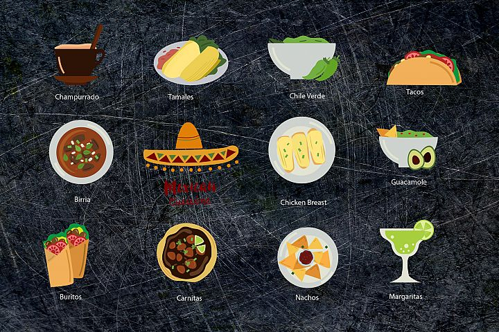 Mexican Food Clipart - Free Design of The Week Design 3