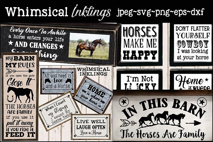 Horse Lovers Bundle SUPER SAVER!