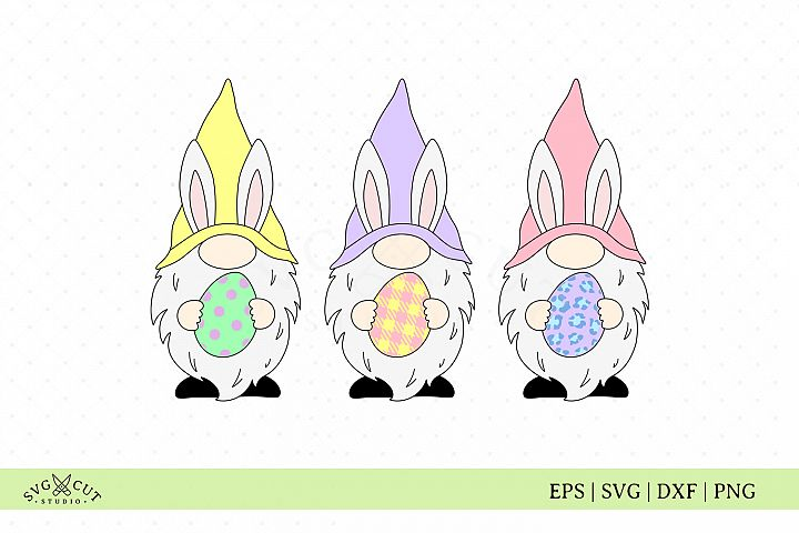 Easter SVG, Easter Gnomes SVG Files
