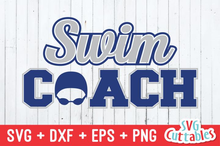 Swim Coach | SVG Cut File