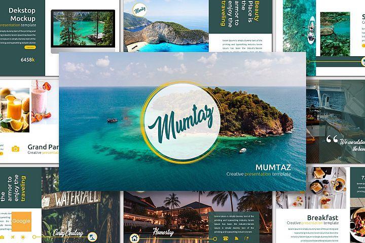 Mumtaz - Google Slides Template