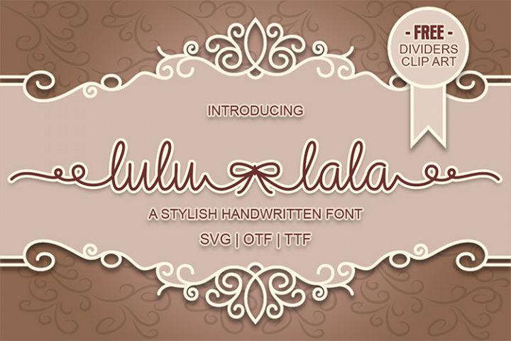 Lulu-Lala Handwritten Font