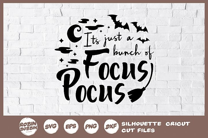 Focus Pocus SVG - Halloween SVG