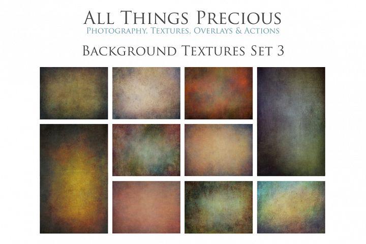 10 Fine Art BACKGROUND Textures SET 3